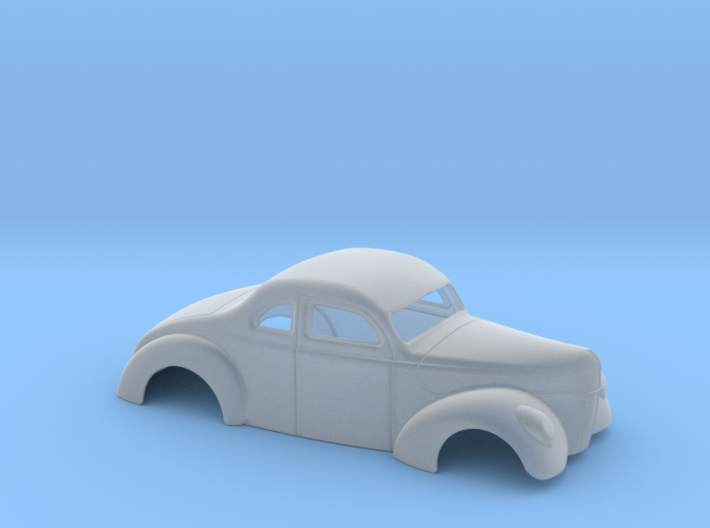 1/64 1940 Ford Coupe 2 Inch Chop 3d printed