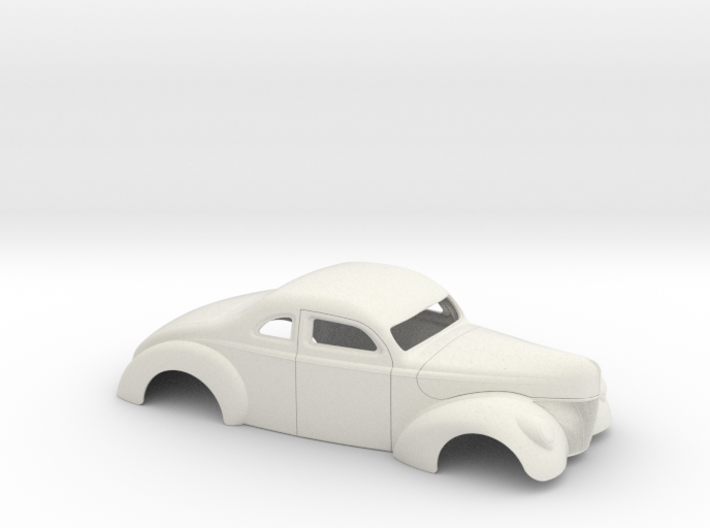 1/16 1940 Ford Coupe 3 In Chop 4 In Section 3d printed