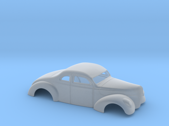 1/43 1940 Ford Coupe 3 In Chop 4 In Section 3d printed