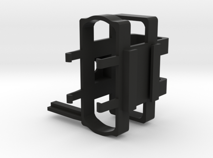 Camera Mount For Sescom Audio Switch With Clip Bar 3d printed