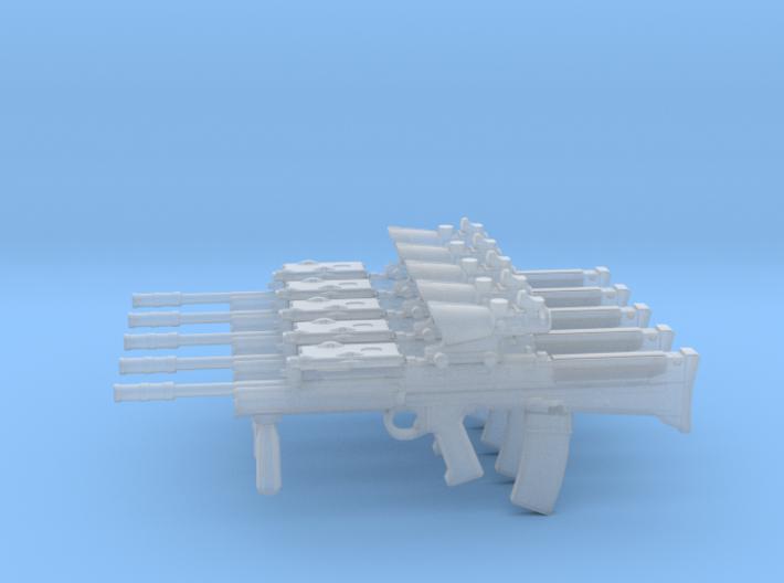 1/16 L85A2 assault rifles 3d printed