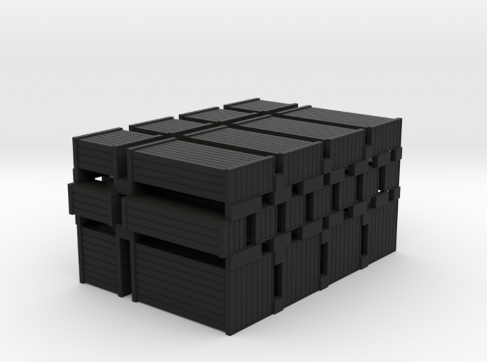 Wood Crates Various Sizes - HO 87:1 Scale 3d printed