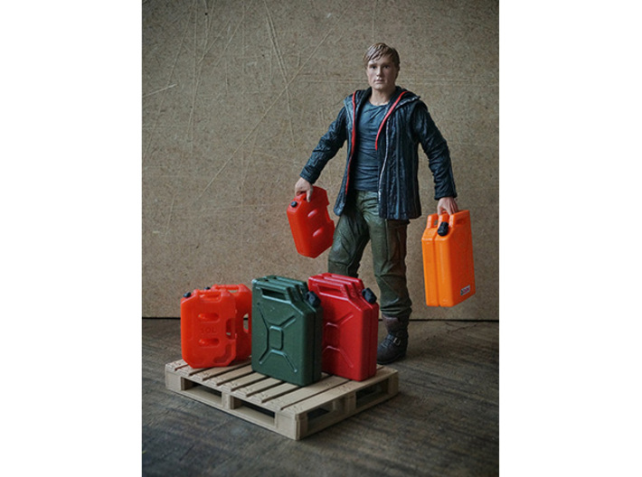 1/10 Scale 10 litre Jerry Can 3d printed