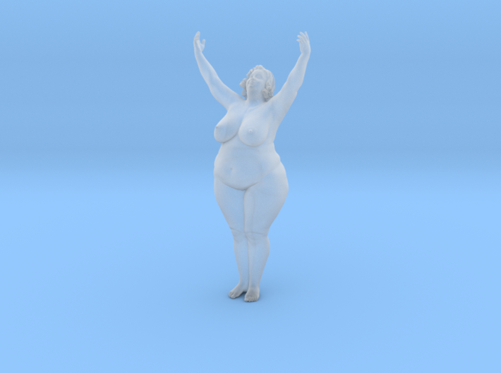 1/32 Fat Woman 015 3d printed