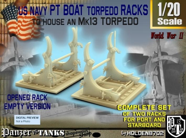 1-20 PT Torpedo Rack TypC Empty 3d printed