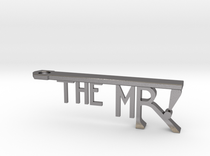 The Mr Bottle Opener Keychain 3d printed