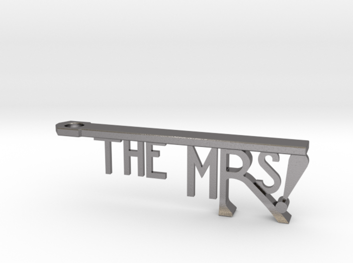 The Mrs Bottle Opener Keychain 3d printed