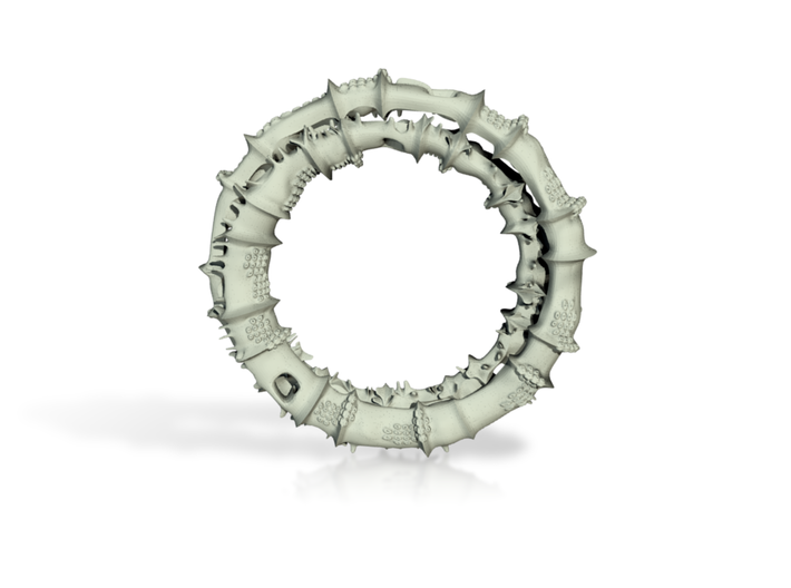Spinor pendant 3d printed