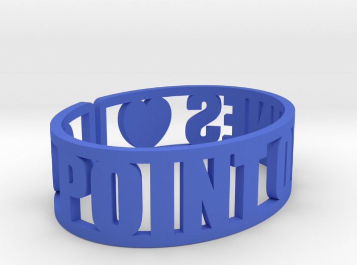Point O'Pines Cuff 3d printed
