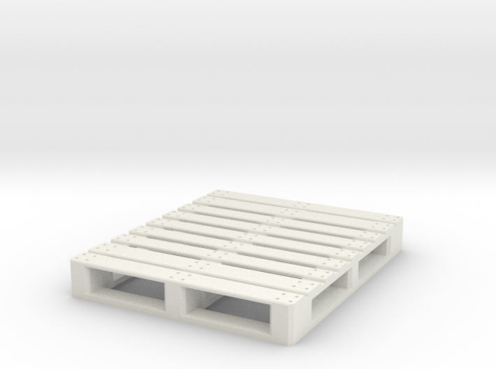 1/10 Scale American pallet (120x100) 3d printed