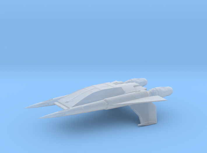 Quad Fighter (Buck Rogers), 1/270 3d printed