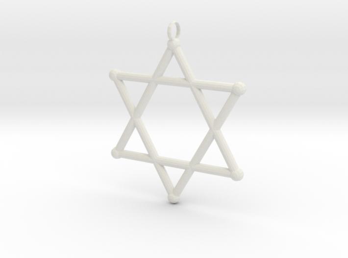 Star Of David 2 3d printed