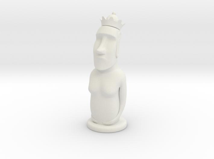 Moai Queen 3d printed