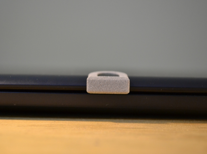 Webcam Cover // 5mm // ULTRA BOOK 3d printed Closed laptop with a 3D Webcam Cover