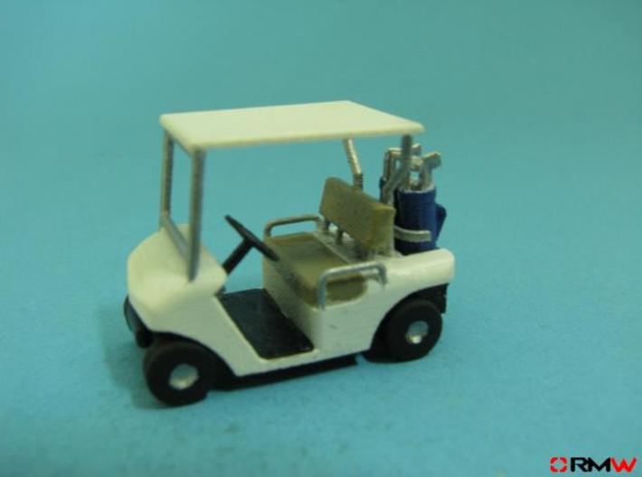 HO/1:87 Golf cart, kit 3d printed [en]painted and assembled [de]bemalt und gebaut