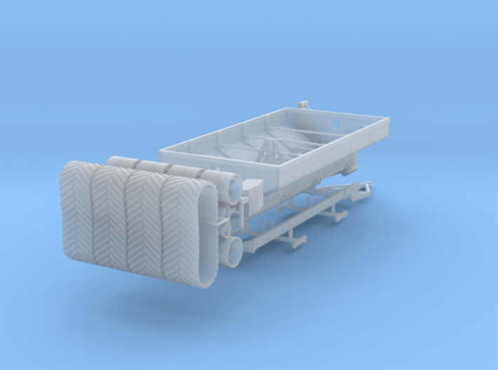 1/64 Grain Cart 2 axle with tracks 3d printed
