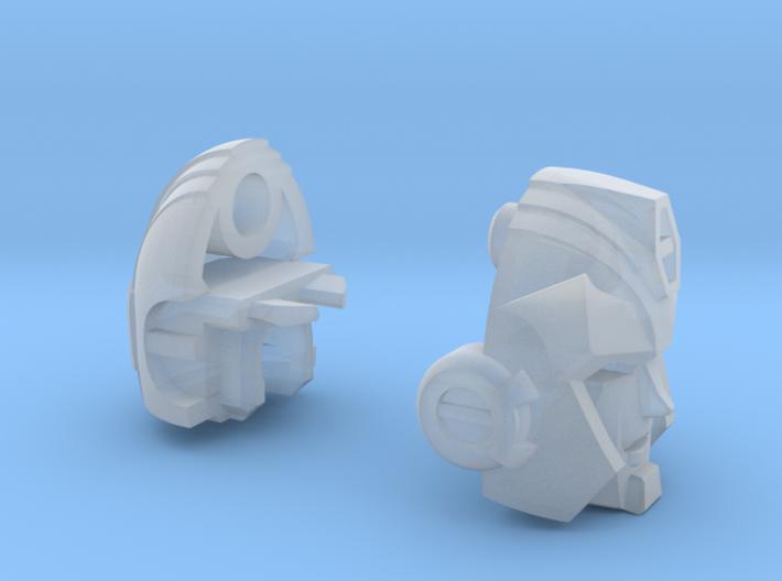 Hot-headed Recruit Head - G1/AHM 3d printed