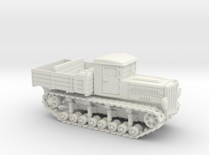 Komintern Tractor (15mm) 3d printed