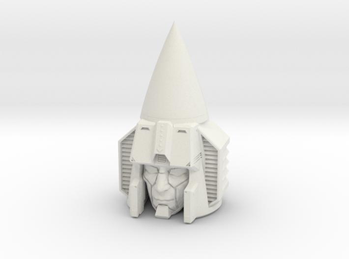 """""""Seeker"""" custom 1:6th scale head 3d printed"""