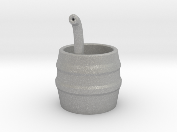 Barrel with Pipe 3d printed