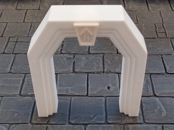 Dwarf Mine Door 3d printed