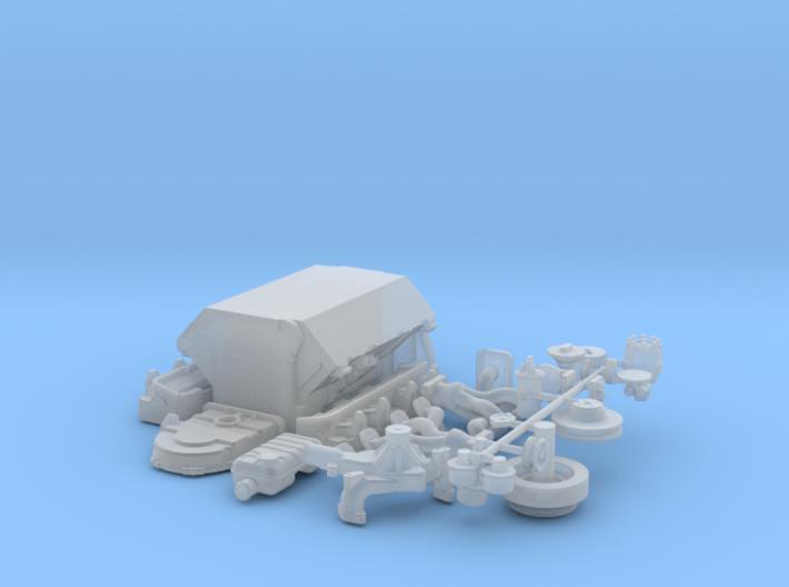 1/25 Ford 427 Side Oiler Basic Block Kit 3d printed