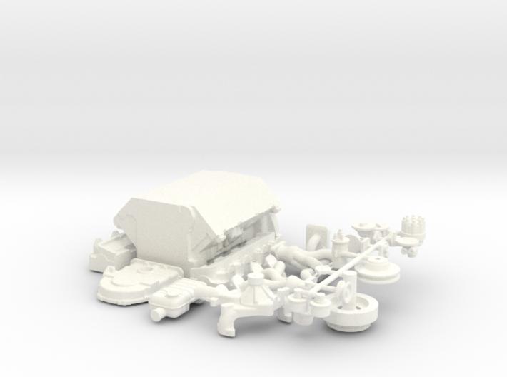 1/8 Ford 427 Side Oiler Basic Block Kit 3d printed