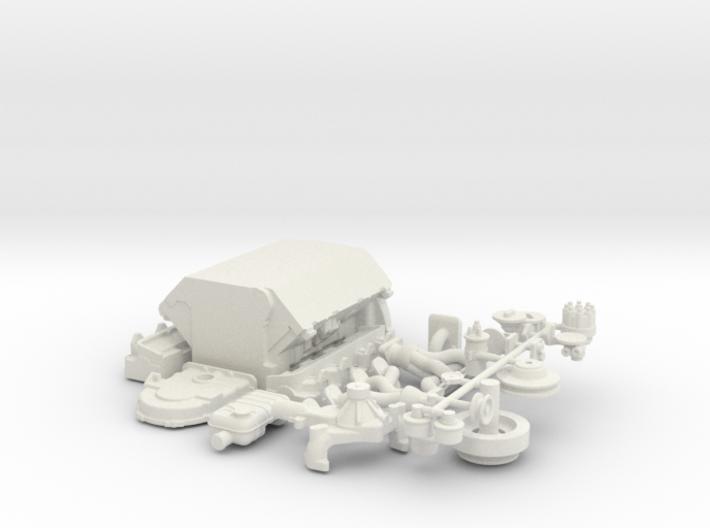 1/18 Ford 427 Side Oiler Basic Block Kit 3d printed