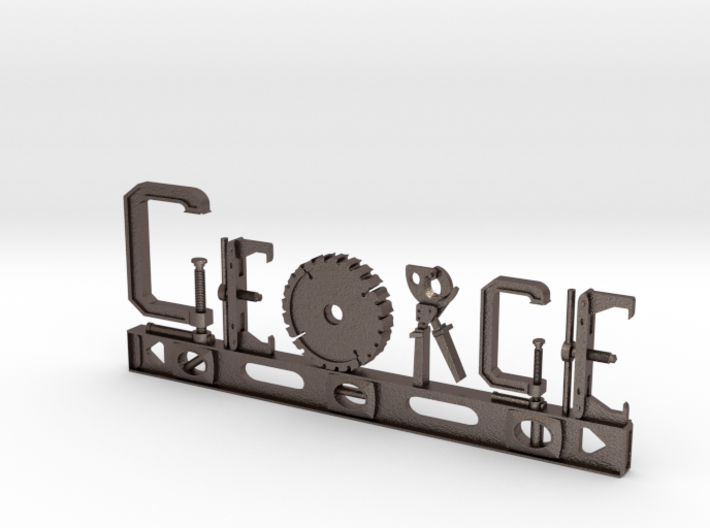 George Nametag 3d printed