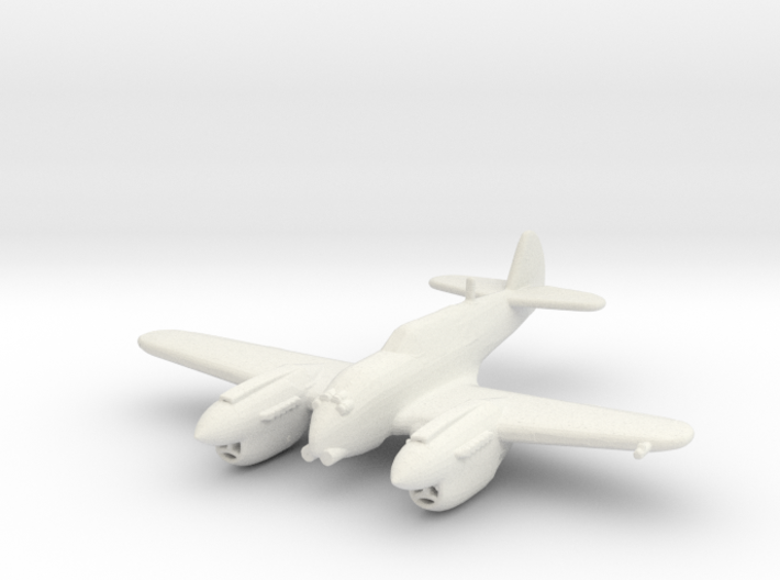 Curtiss P-40 Twin (Proposed) 3d printed