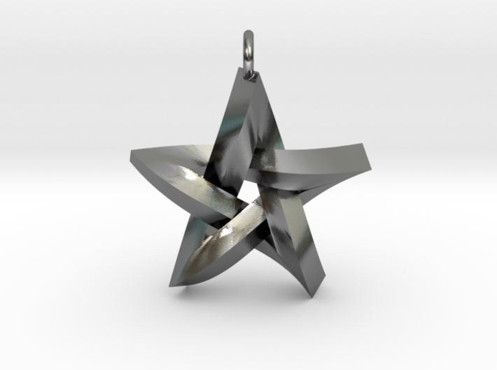Impossible Star Pendant 3d printed