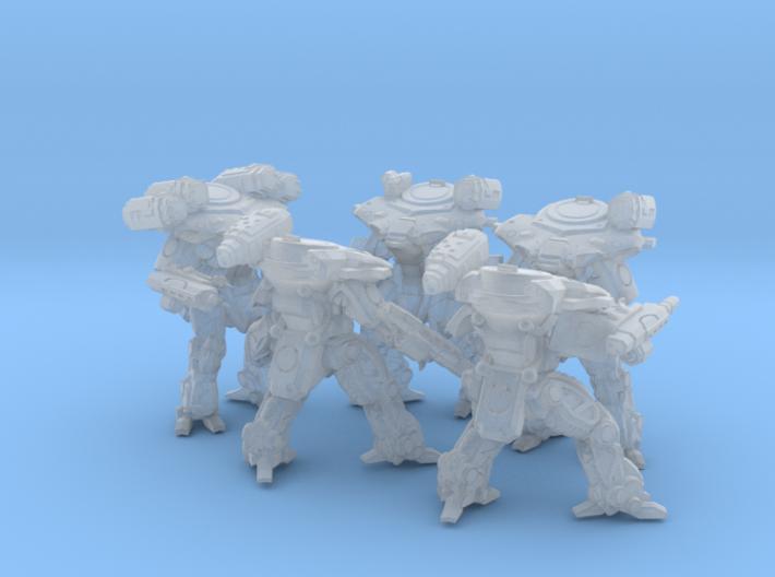 Quenn Tactical Armor Squad 3d printed
