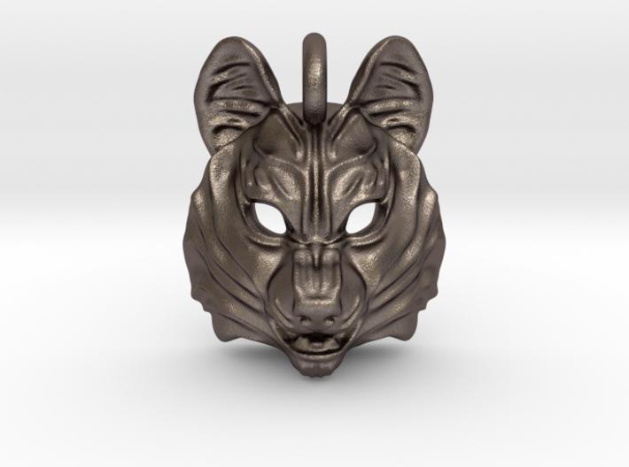 Siberian Husky Pendant 3d printed