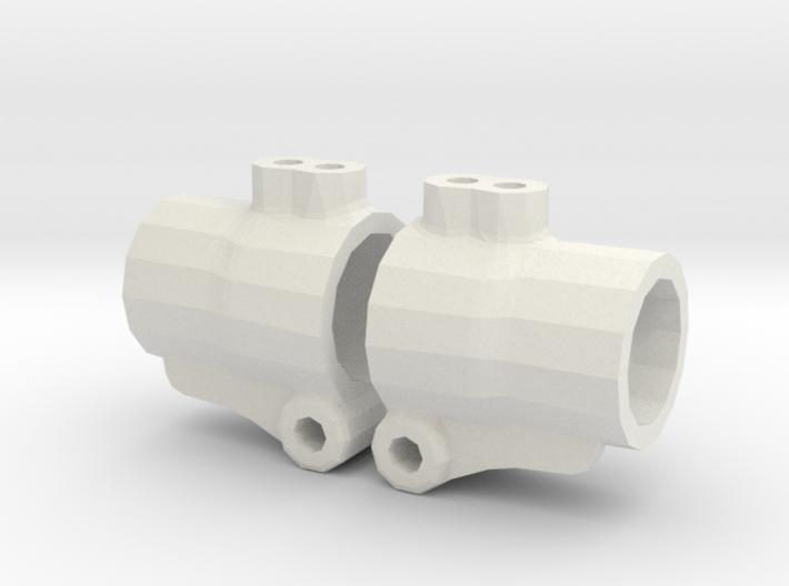 MF01 REAR HUB CARRIER LOW RIDE 3d printed