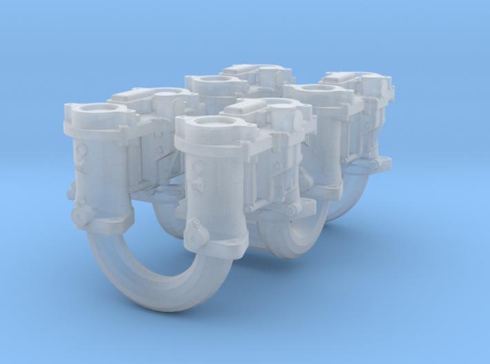 1/18 Weber Down Draft Carburetors 3d printed