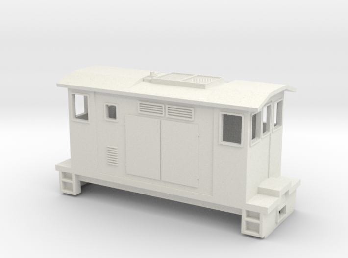 "HOn30 Boxcab Locomotive (""Maud"" V3) 3d printed"