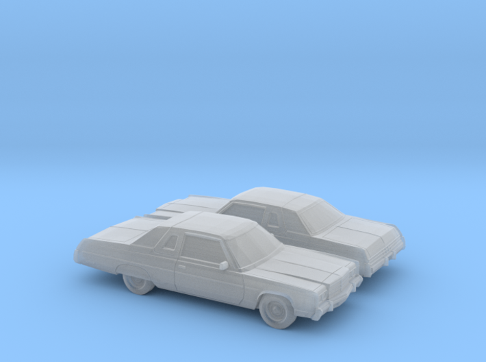 1/160 2X 1977 Chrysler Newport Brougham Coupe 3d printed
