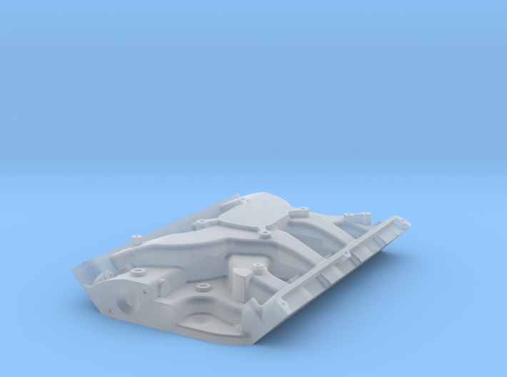 1/43 Ford 427 Side Oiler Single 4 Barrel Intake Ki 3d printed