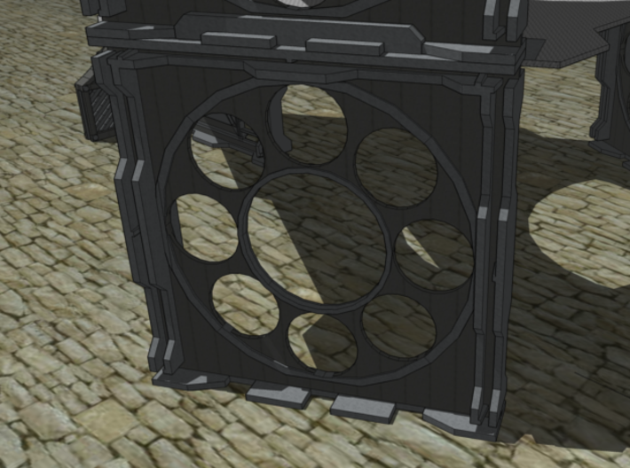 Gen1 BULKHEAD Round Windows  3d printed A rendered example in use