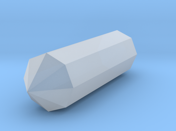 """1.5"""" Crystal 3d printed"""