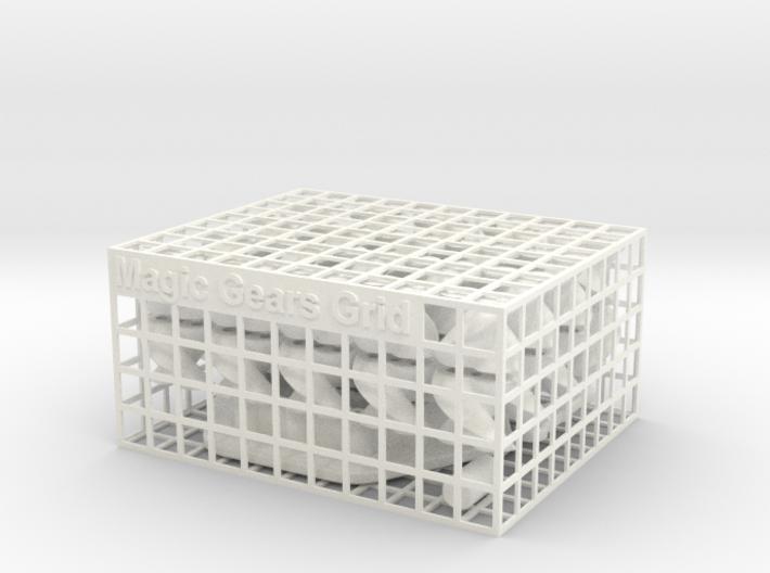 Magic Gears Grid 3d printed