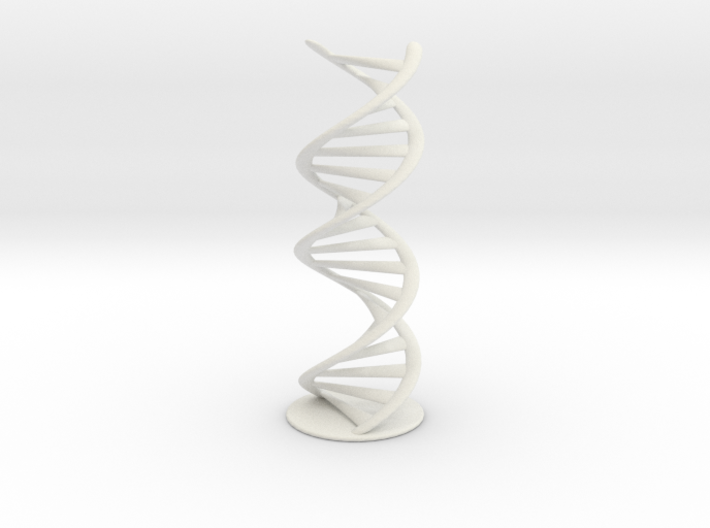 DNA helix + stand (small) 3d printed