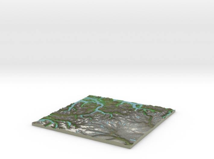 Terrafab generated model Tue May 24 2016 21:38:26 3d printed