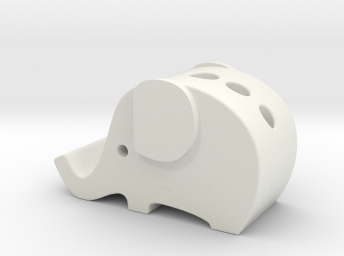 elephant iphone 6se holder 3d printed