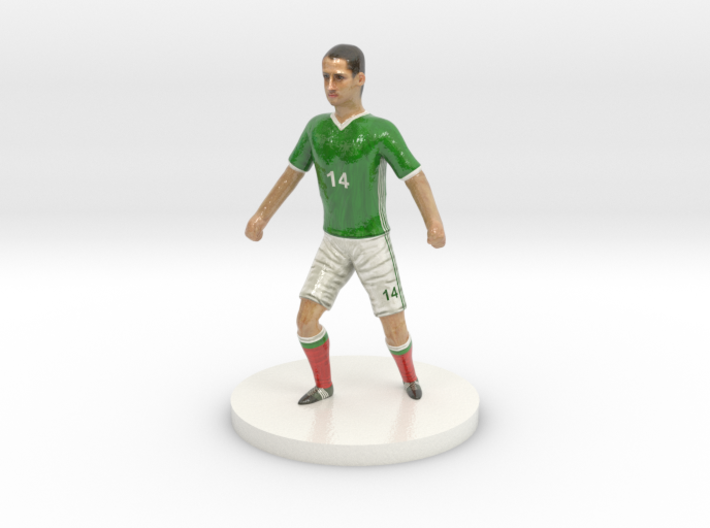 Mexican Football Player 3d printed