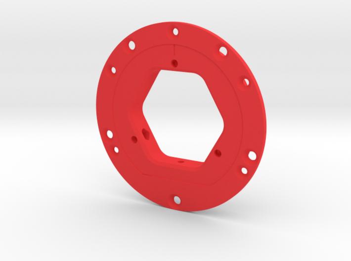 Imp3dDisco 98x3+anillo 3d printed