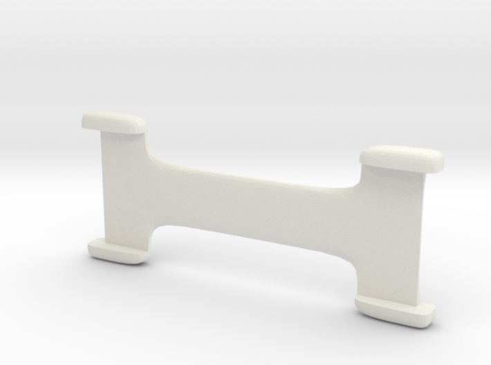 8mm Band Ring Spacer 3d printed
