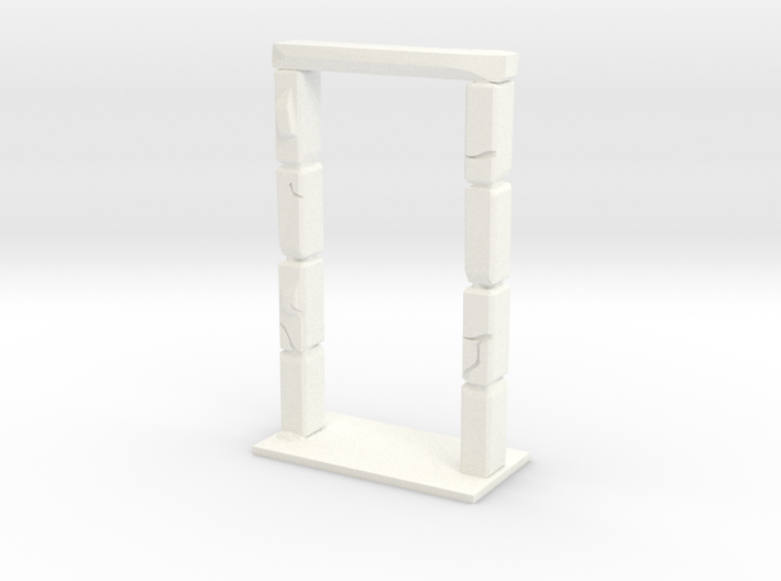 "HeroQuest  ""Kellar´s Keep"" Door - open version 3d printed"