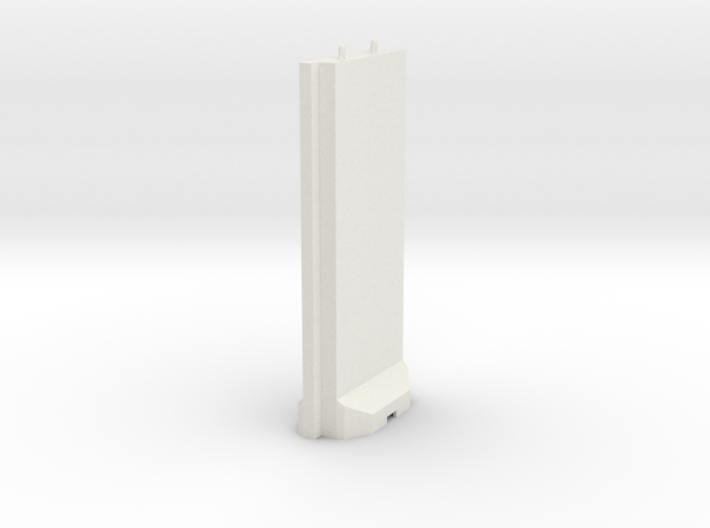 1-56 Concrete T-Wall Section 3d printed