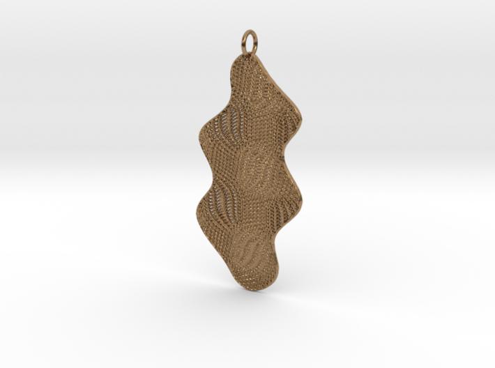 Texture #4 Pendant 3d printed